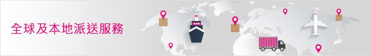 全球及本地派送服務