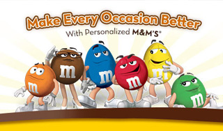 Your Personalized M&M's